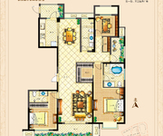 3房2厅3卫187㎡