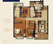 129.41方3室2厅2卫中间套K1户型