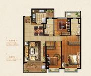 128.78方3室2厅2卫中间套K户型