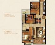 103.18方3室2厅2卫西边套E户型