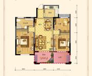 三室两厅一卫102㎡A2户型
