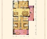 三室两厅两卫119㎡A1户型