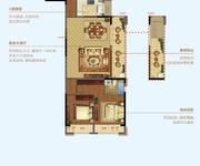 4房2厅2卫128㎡C2-128户型