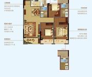 3房2厅2卫98㎡A98户型