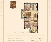 G4户型 三室两厅两卫 120㎡边套