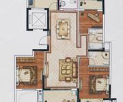 约124方3室2厅2卫D户型