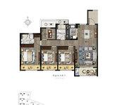四室两厅两卫B户型120㎡