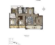 四房两厅两卫D户型140㎡