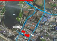 瓜渚湖旁两块居住用地3月29日出让