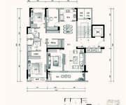 C3户型 4室2厅2卫 142㎡