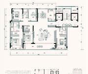 G1户型 5室2厅3卫 234㎡