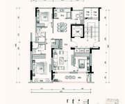 C2户型 4室2厅2卫 126㎡
