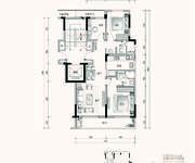 A1户型 3室2厅2卫 101㎡