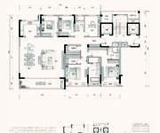 G2户型 5室2厅3卫 243㎡