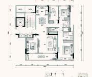 D2户型 4室2厅2卫 154㎡